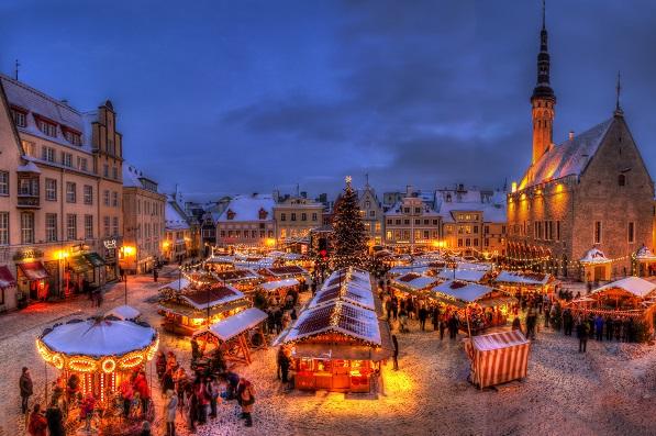 SPA Tervis med Julmarknad i Tallinn 25/11