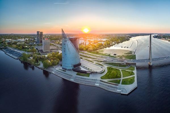 Moderna byggnader, Riga