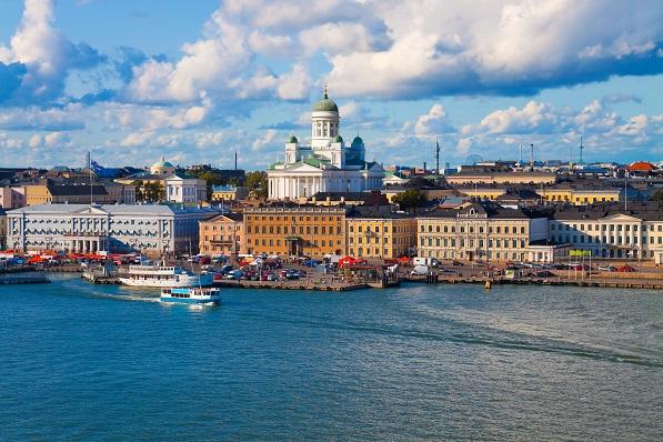 Finland med Saima kanal