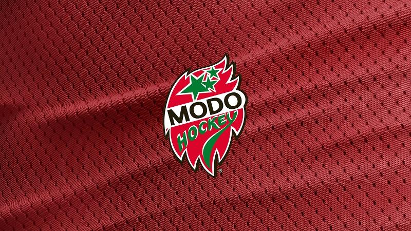 Hockeybussar - MODO Hägglunds Arena