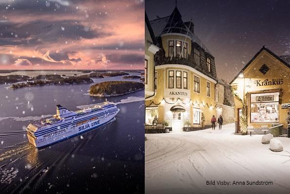 Nyhet! Julkryssning till Visby 27/11